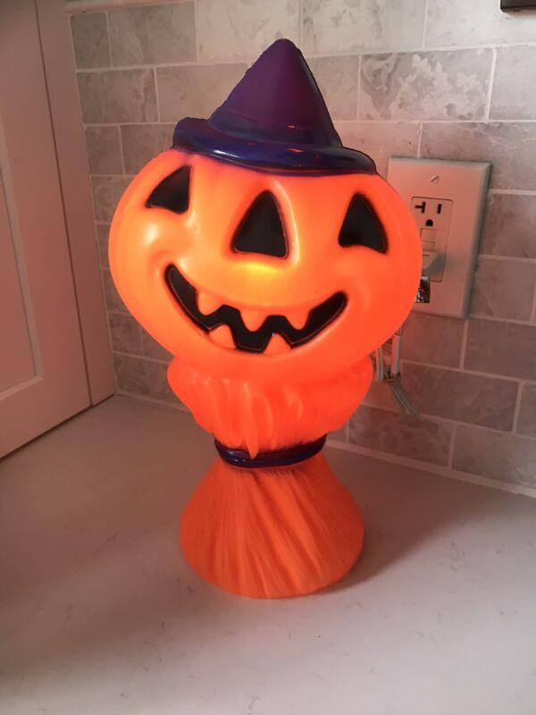 Empire Halloween Pumpkin Blowmold on Haystack