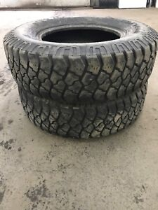 2 x Goodyear Workhorse LT245/75R16