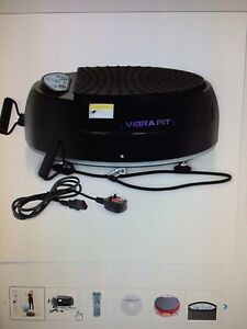 New Vibra Fit with resistance bands and remote