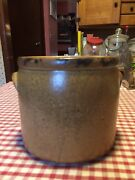 Antique Crock Cookie Jar
