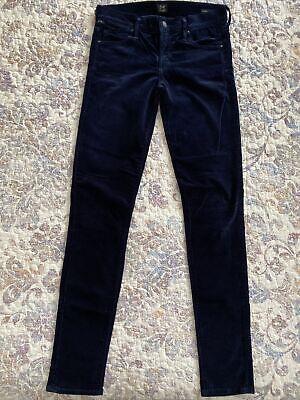 Citizens of humanity Avedon Low Rise Skinny Leg Women's Size 27 Velvet Jeans