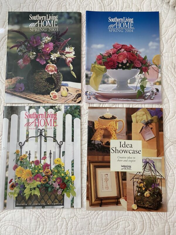 SOUTHERN LIVING at HOME Catalogs Decor & Styling Ideas for home ** 3 CATALOGS **