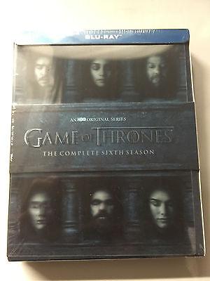 Game Of Thrones Season Six 6 Sixth Season 6Th  Blu Ray Disc  New Sealed In Box