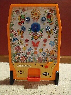 Vintage 1975 Japanese Pinball Super Pachinko Epoch Games 6100 In Orig Box