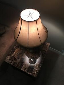 Nice brown lamp with tanned hat (like NEW!!!) Kitchener / Waterloo Kitchener Area image 4