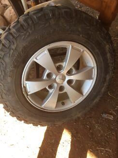 Hero dynastorm Tyres with wheels x4 Yetman Inverell Area Preview