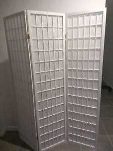 3 Panel foldable room divider