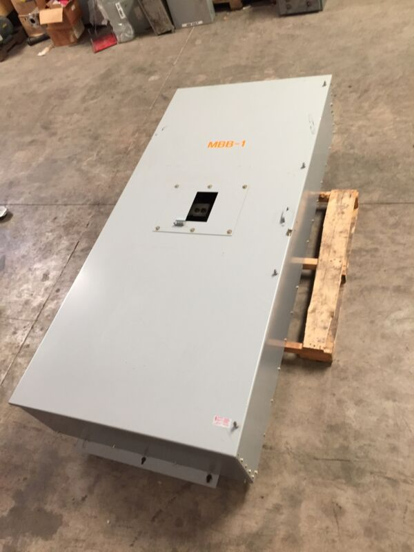 "GE TPB1600 1600A Power Break Enclosure Panel 86"" up to 1600 Amp General Electric"