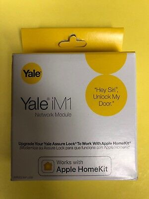 Yale Assure Lock Im1 Network Module    Works With Apple Homekit    New In Box