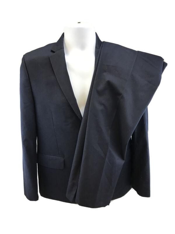 Lauren Ralph Lauren Boys Blue 2 Button Suit Jacket & Dress Pants 18R/29