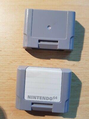 Original Nintendo 64 Controller Pak NUS-004 N64 Speicher Memory Card (64 Controller Pak)
