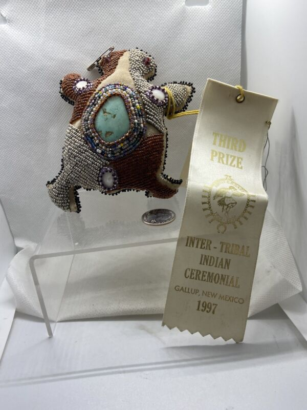 Handmade Pin Cushion Third Prize Winner S Garnanez Navajo