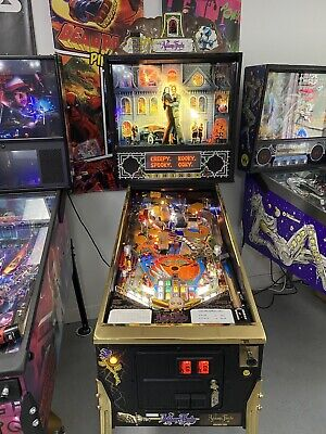 1994 ADDAMS FAMILY GOLD SPECIAL COLLECTORS EDITION PINBALL MACHINE RARE