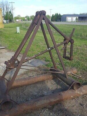 S M Jones Oil Field Pump Jack Very Old Hit Miss Oil Well Display