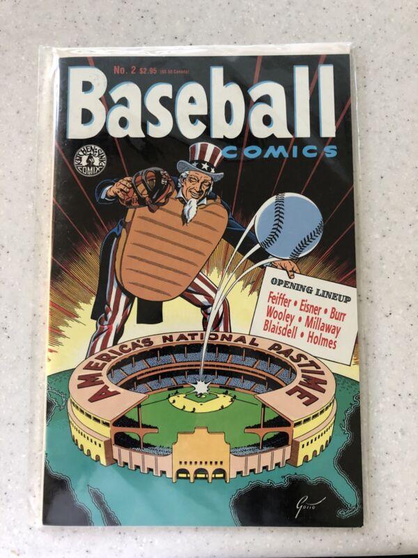 Kitchen Sink Comics Baseball Comics Number Two