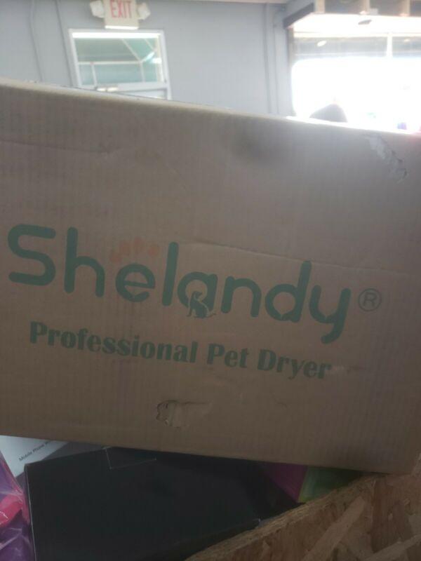 Shelandy STL-1902 3.2HP Adjustable Speed Pet Hair Dryer