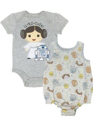 Baby Princess Leia (Star Wars Princess Leia Infant Baby Girls Bodysuit & Sleeveless Romper)