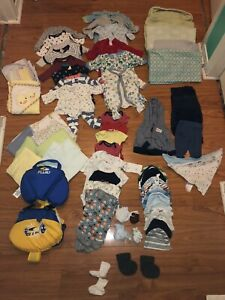 New Born Assorted Boys Clothes $30