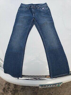 NOS Harley Davidson Womens Ladies Pink Label Bootcut Jean Pants Size 8 NWOT