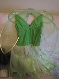 Disney tinkerbell costume, fairy costume with wings. Forrestfield Kalamunda Area Preview