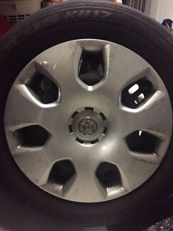 2012 Holden Cruze rims and tyres Lisarow Gosford Area Preview