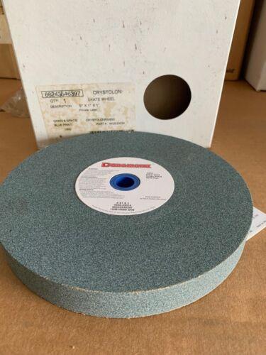 "Duramark Surface Grinding Wheel 8"" x 1"" x 1"" 3600rpm Crystolon Fine 80 Grit NOS"