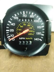 Ford racing 140 mph Mustang Speedometer