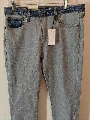 NEW Levi's Made & Crafted Inside Out Reverse 510 Skinny Jeans Size 32/34 $168