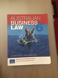Australian Business Law Chadstone Monash Area Preview