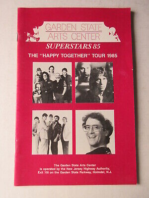 GARDEN STATE CENTER HAPPY TOGETHER TOUR 1985 The Turtles Buckinghams Gary Lewis