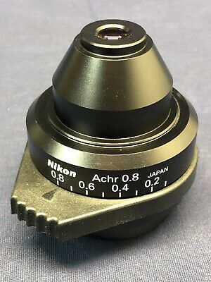 Nikon Achro 0.8na Condenser For Eclipse And I Series Microscopes