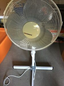 Electric floor fan