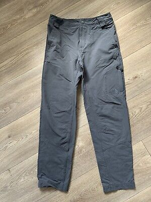 Boys The North Face Exploration Pants Medium Grey