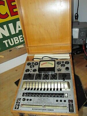 Precision Apparatus Tube Battery Tester Model 10-12 With Manuals