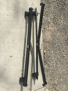 Ski Rack with lock.