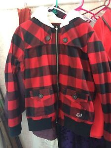 Plaid Fox Racing Jacket