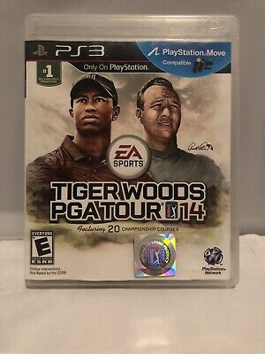Tiger Woods PGA Tour 14 (Sony PlayStation 3, 2013) Free Shipping