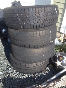 195/60 r15 ... 4 tires 2 brand new 2 with a bit of wear