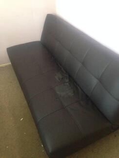 Black Sofa Bed Sunnybank Brisbane South West Preview