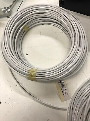 100 Ft Tefzel 4 Awg Teflon Coated Stranded Aviation Grade Wire M2275916-4
