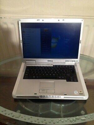 Dell Inspiron 6400 laptop, CPU T2050, Windows 7 home, 1GB RAM, 60GB HDD, 32 bit.