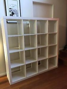 IKEA Expedit 4by4 cube shelves - white Willoughby Willoughby Area Preview