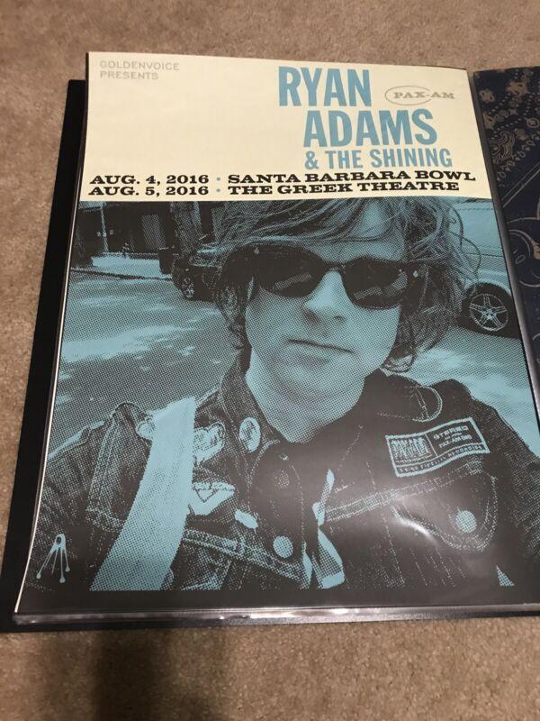 Ryan Adams 2016 LA Poster