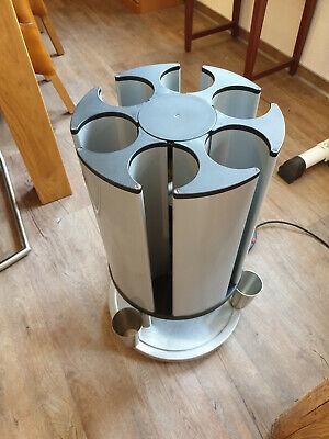 Edelstahl Tassenwärmer Geschirr ca 48 Tassen Wärmer Geschirrwärmer Saro Athos