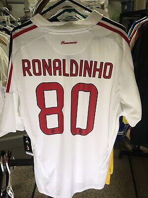 1529e5237 Adidas 2008 2009 XL Ronaldinho Away AC Milan Kit Shirt Jersey Camiseta NWT  !!