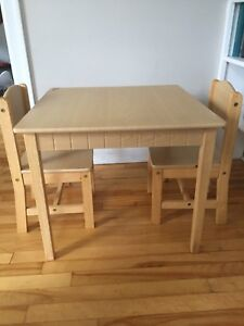 Kidkraft Table & 2 Chairs