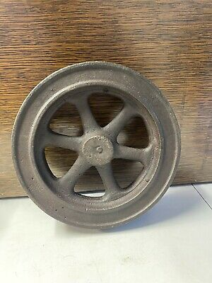 Vintage Cast Iron Model Hit Miss Gas Engine Steam Engine Flywheel Casting