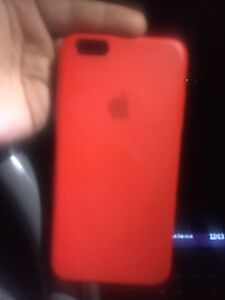 APPLE IPHONE 6 PLUS RED PRODUCT SILICONE CASE