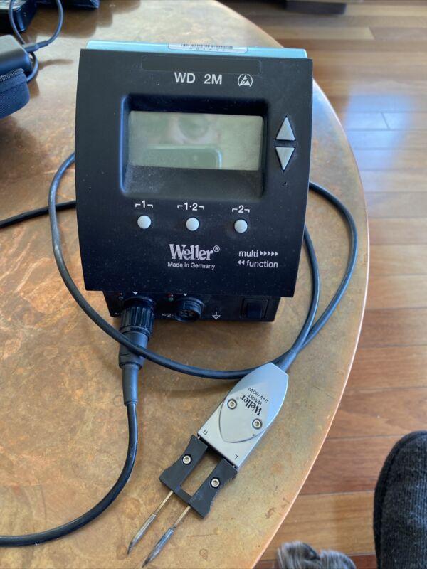 Weller WD 2M Digital Dual Channel Solder Unit & WMRT + RTW2 Desoldering Tweezers