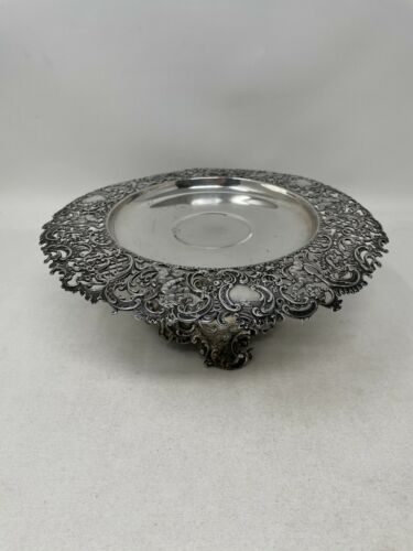 Dominick & Haff Labors of Cupid Sterling Silver Footed Salver